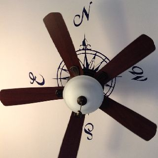 Ceiling Compass Chris Could Do This In His Study Home