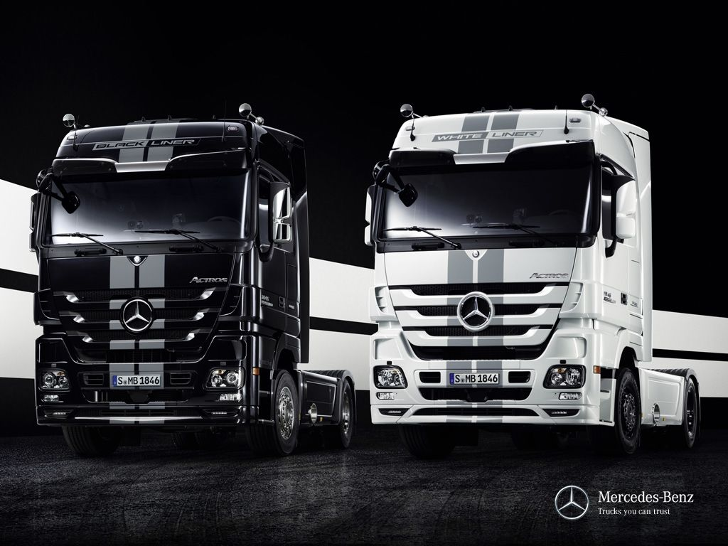 Tricked out trucks mercedes benz customizes its actros semi truck