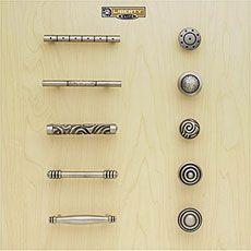 Liberty Kitchen Cabinet Hardware - Betsy Fields Design - Circles ...
