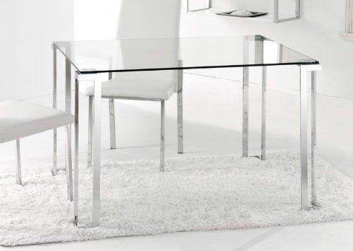 Adec - Mesa de comedor rectangular dalí, medidas 120 x 80 x 75 cm ...