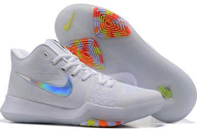 05b8edf54e3ef champmalls.com Genuine Nike Kyrie 3 White Colorful Shoes