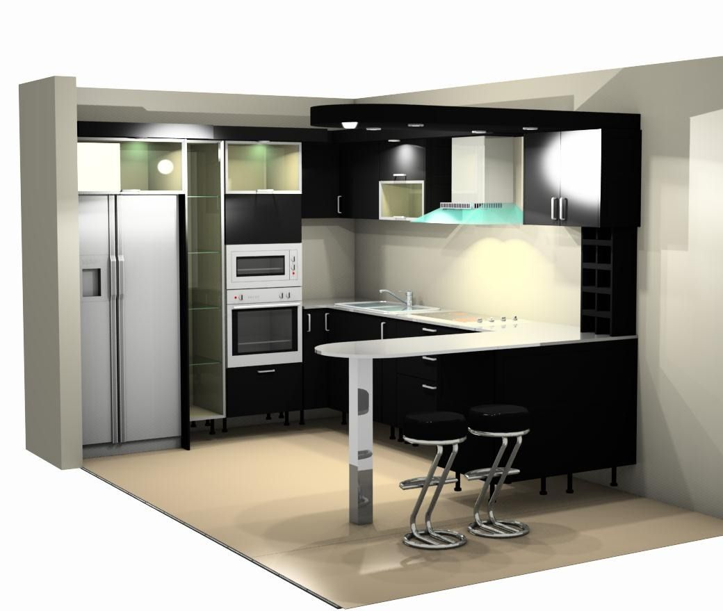 Cocinas empotradas closet modernos juegos cuarto hawaii for Cocinas modernas pequenas para apartamentos pequenos