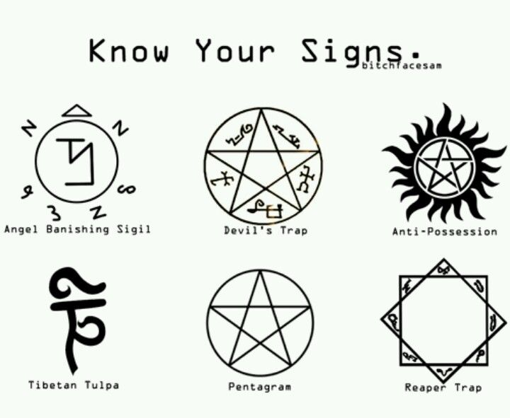 Know em? Good. When the apocalypse comes, we're going to be the ones drawing circles everywhere.