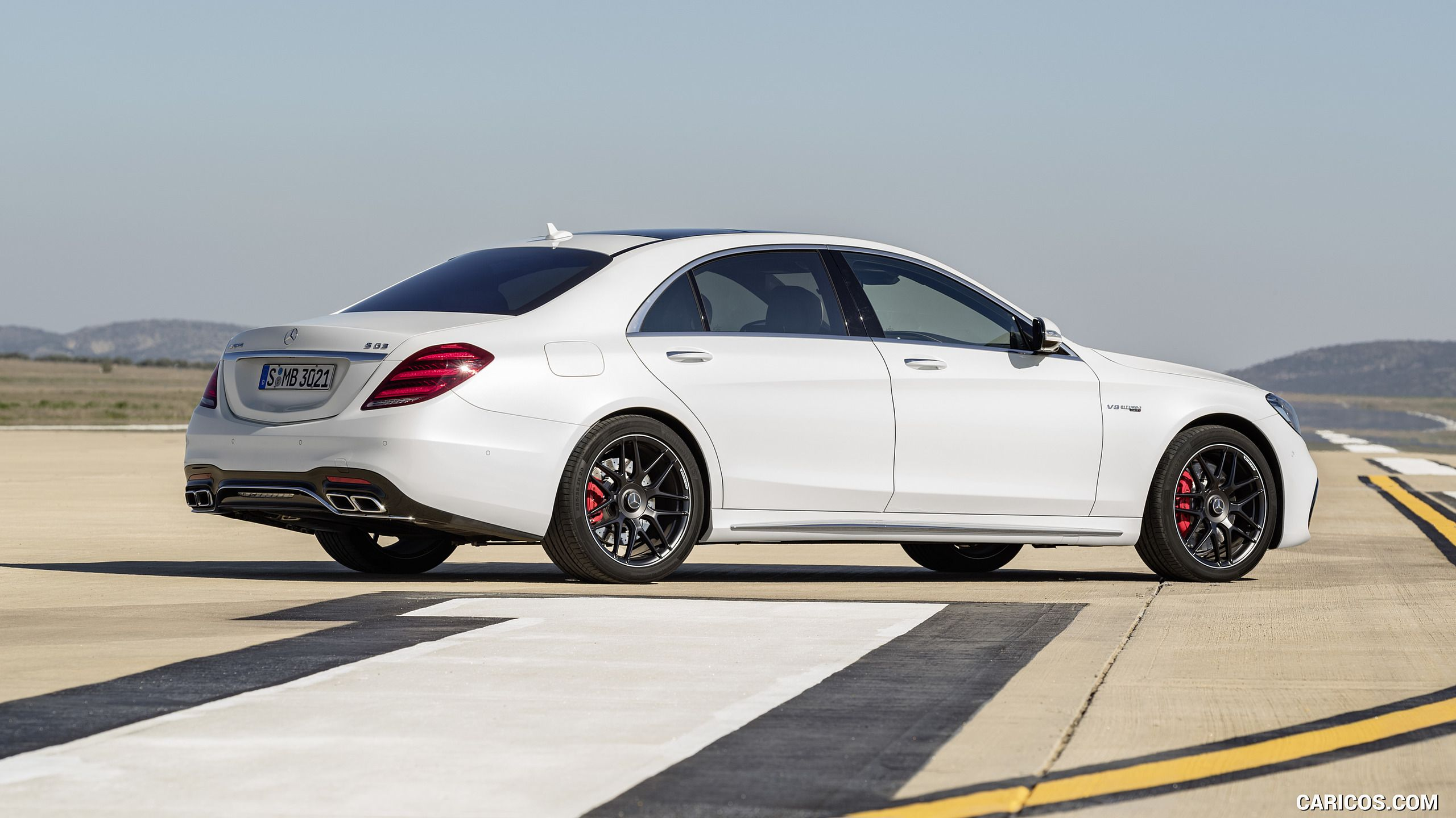 Impressive power as well as the expressive design distinguish the mercedes amg s 63 and the s 65 v