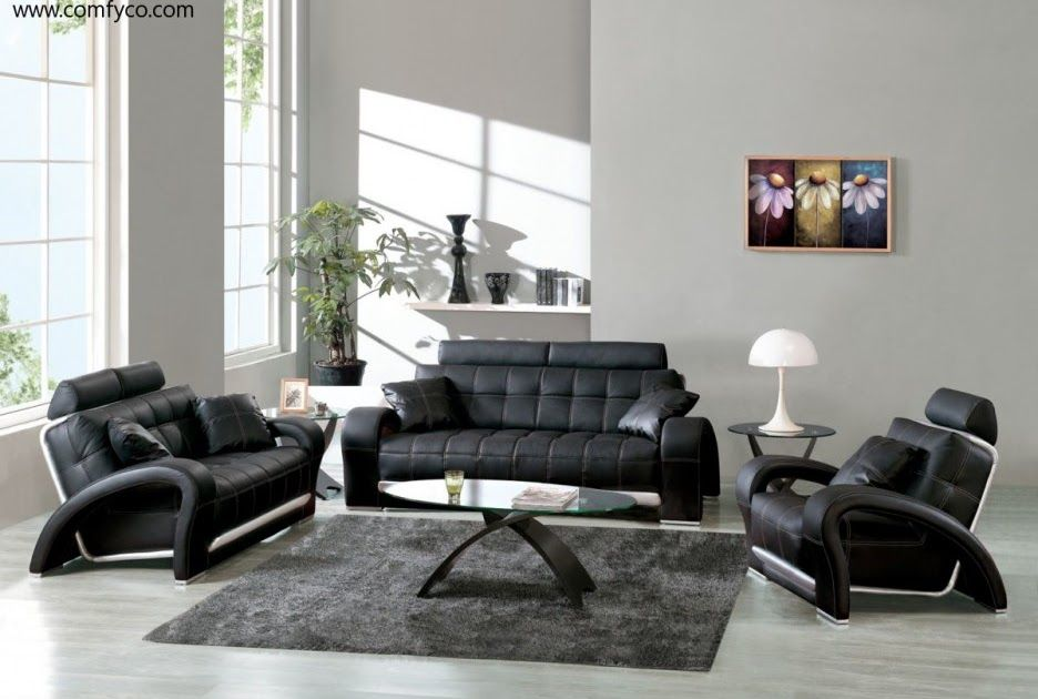 Living Room No Couch Ideas Accessories Set Interior And Can A Living Room In 2020 Black Furniture Living Room Black Leather Living Room Furniture Living Room Leather #no #furniture #living #room
