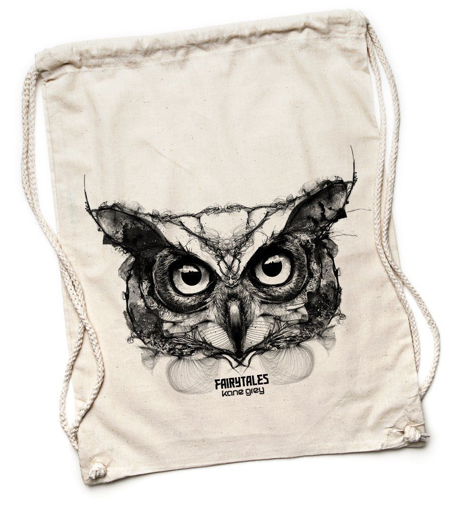 Kane Grey - Owl - Turnbeutel - Natur: Amazon.de: Bekleidung
