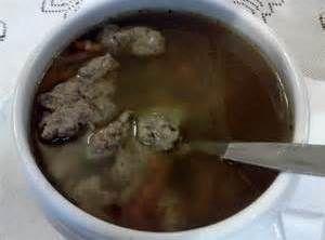 Amish Liver Dumpling Soup