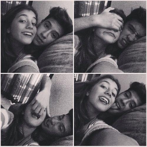 #square #couple #blackandwhite