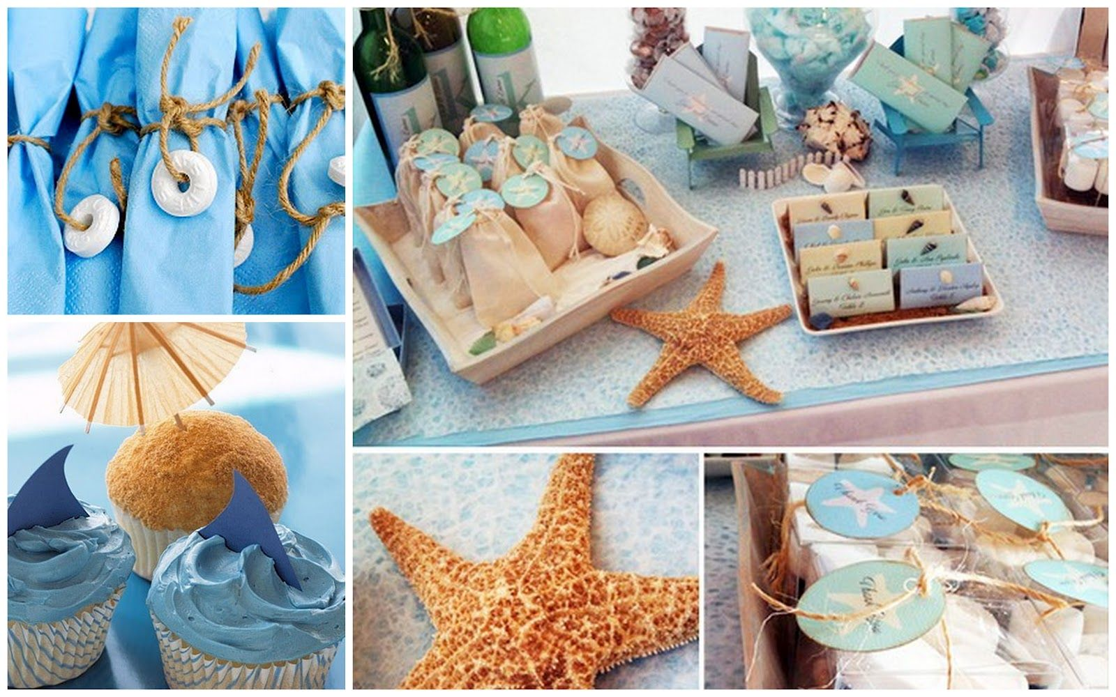 Superior Sea Themed Decorating Ideas Part - 2: Beach Theme Parties