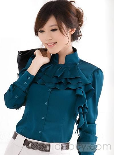 4afdbf2d Estilo Coreanos Camiseta con Mangas Largas | Blusas | Blusas, Blusas ...