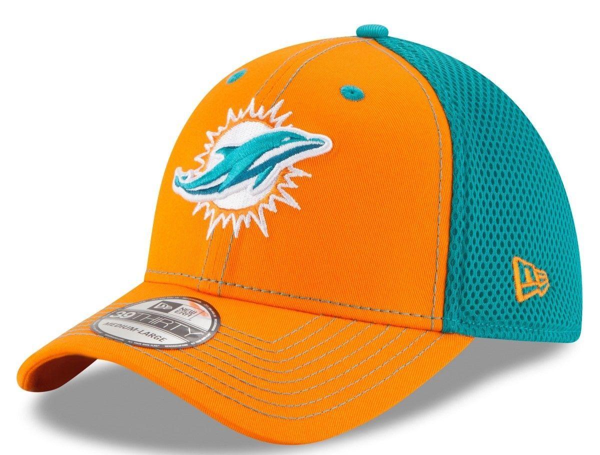 c1d5d9e35cf ... sweden miami dolphins new era youth team front neo flex hat orange aqua  5d7f5 b74a8