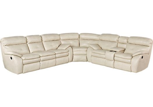 Reclining Sectional 134w