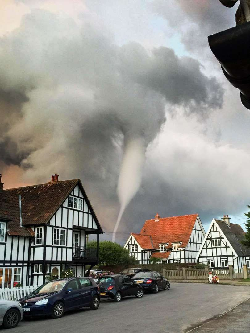 London Tornado : london, tornado, Suffolk,, Tornado, Village, Thorpeness, Hannam/REX/Shutterstock, Suffolk, England,, Beautiful, Buildings