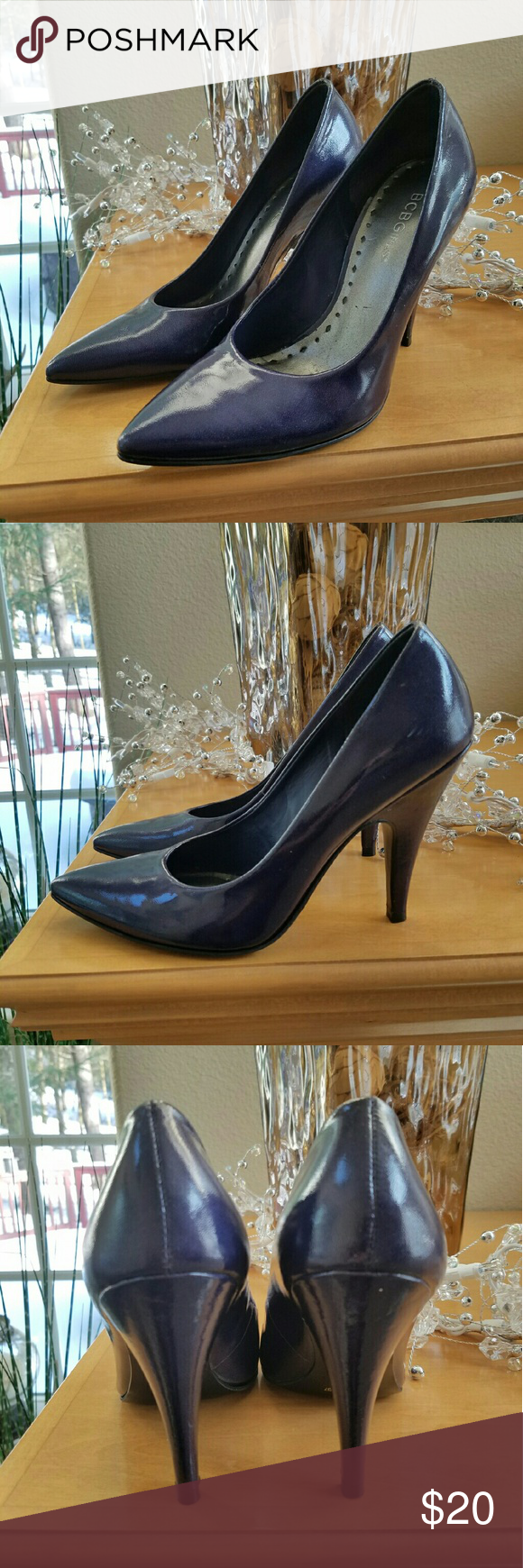 Like New! BCBGirls Purple Patent Heels Size 7 Open to offers!  Only worn a few times. These BCBG Purple Patent leather pumps size 7 are in excellent condition. The uppers and heels have no scuffs and have a 4-inch heel. Retailed for $70 BCBGirls Shoes Heels