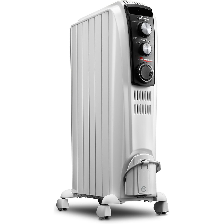 1 500 Watt Portable Electric Radiant Radiator Heater With Mechanical Controls Radiant Heaters Radiator Heater Best Space Heater