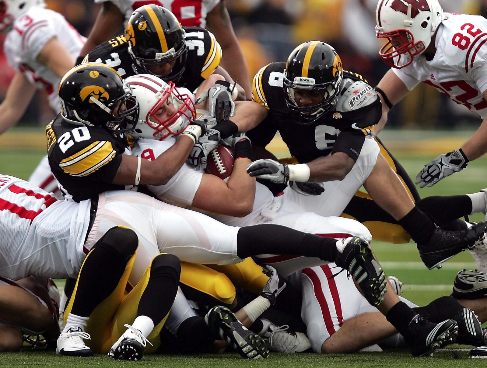 See a Wisconsin vs. Iowa Hawkeyes football game, | Iowa ...