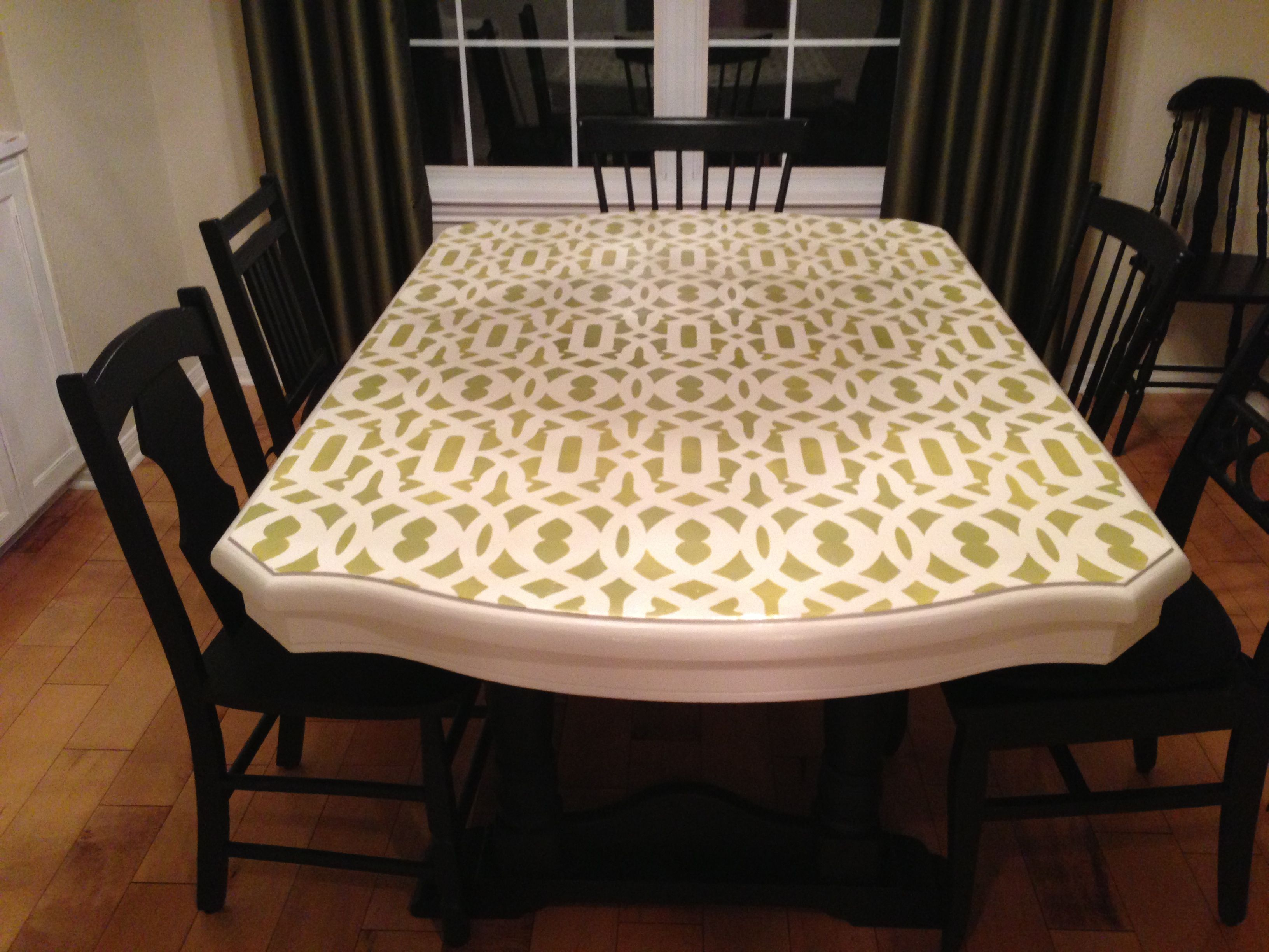 My new rad dining table!