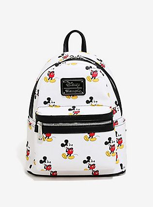 Disney Mickey Mouse Allover Print Mini Backpack 358e8265a6586