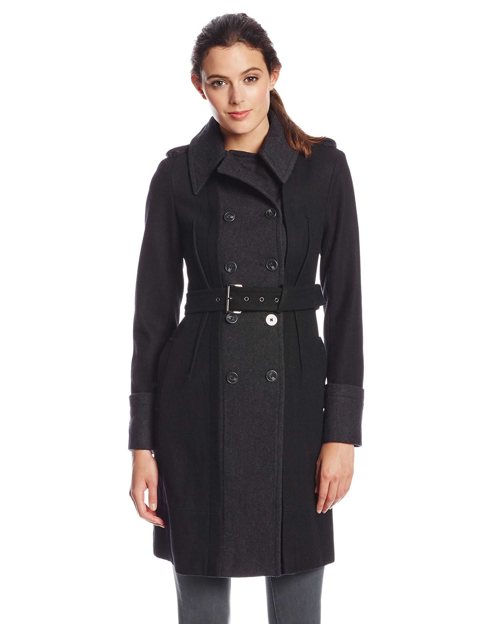 jacket camuto coat quilt quilted material vince mixed