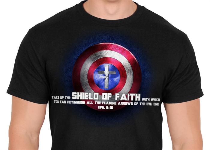 c892f8d5 Captain America Christian Shirt   Jesus Style and Jesus Bling ...