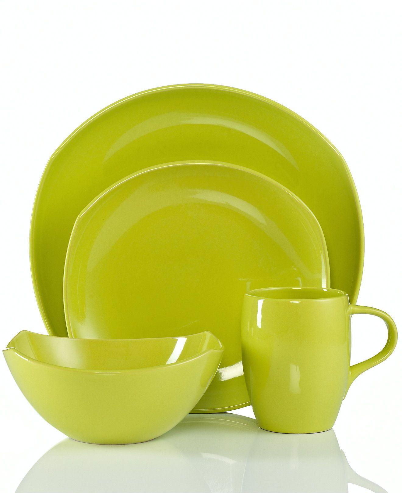 CLOSEOUT! Dansk Dinnerware Classic Fjord Apple Green Collection - Dinnerware - Dining \u0026 Entertaining  sc 1 st  Pinterest & CLOSEOUT! Dansk Dinnerware Classic Fjord Apple Green Collection ...