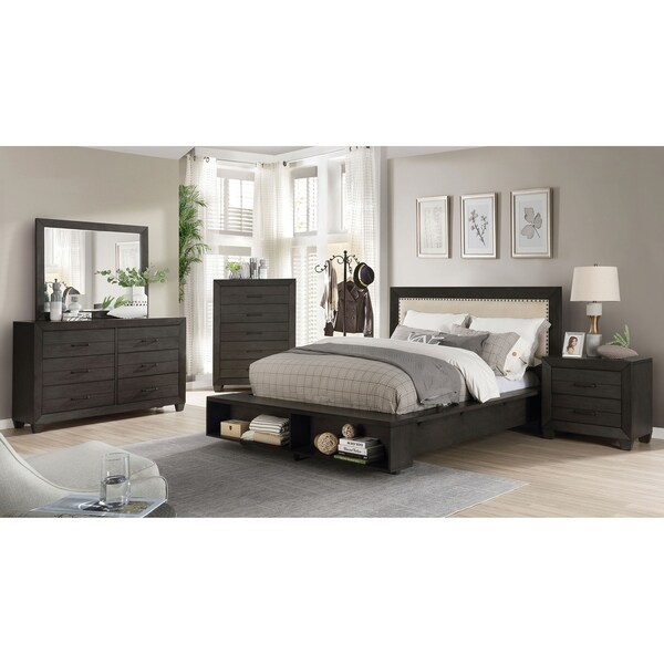 Overstock Com Online Shopping Bedding Furniture Electronics Jewelry Clothing More Bedroom Sets Furniture King Brown Furniture Bedroom Bedroom Set