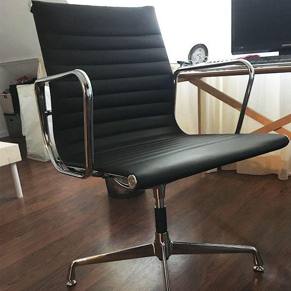 Der Eames Ea 108 B 252 Rostuhl Schwarz Popfurniture Com