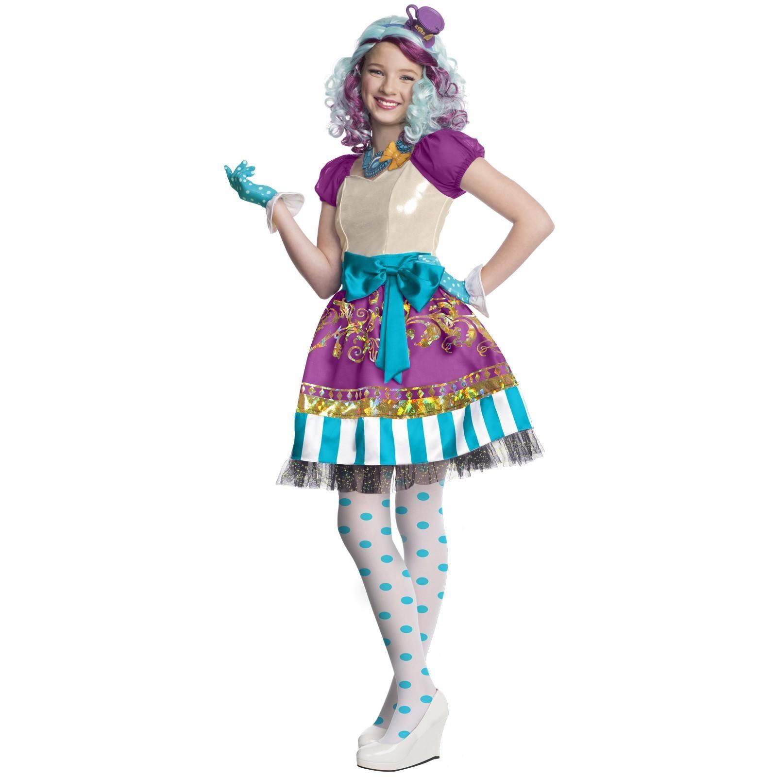 ever after high madeline hatter child costume - Mad Hatter Halloween Costume For Kids