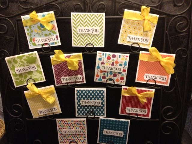 small thank you card ideas