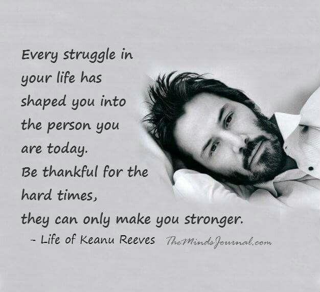 Keanu Reeves's said..