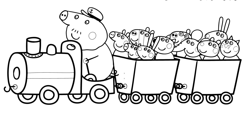 Disegni Da Colorare Di Peppa Pig Da Stampare.30 Stampare Disegni Da Colorare Di Peppa Pig Da Stampare Gratis