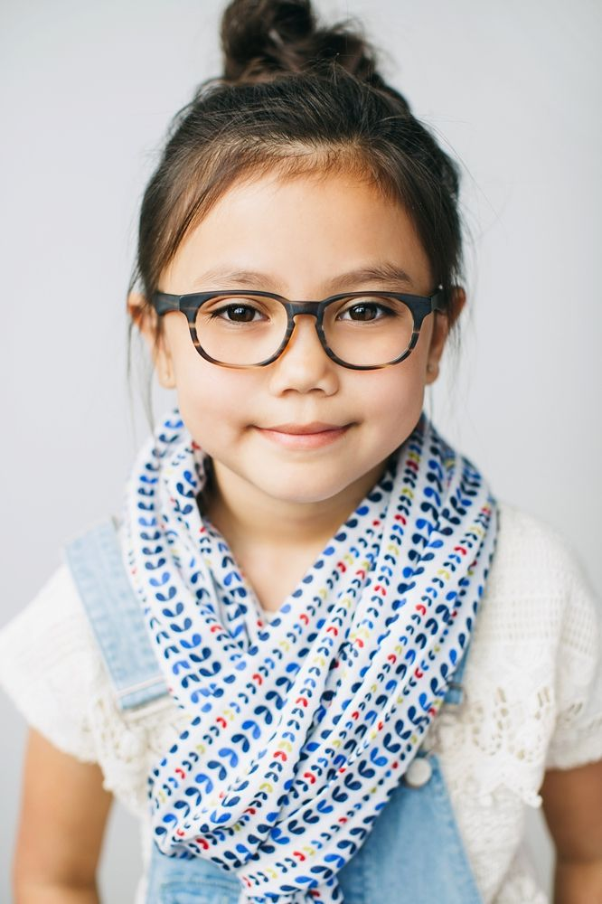 Kids Glasses // The Ruth Striped Maple | Kids Glasses