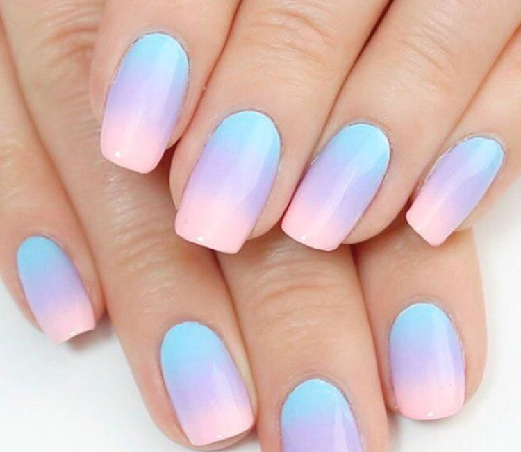 Unicorn Nails Ideal For Kids Or Teens Unicorn Nails Designs Rainbow Nails Simple Nails