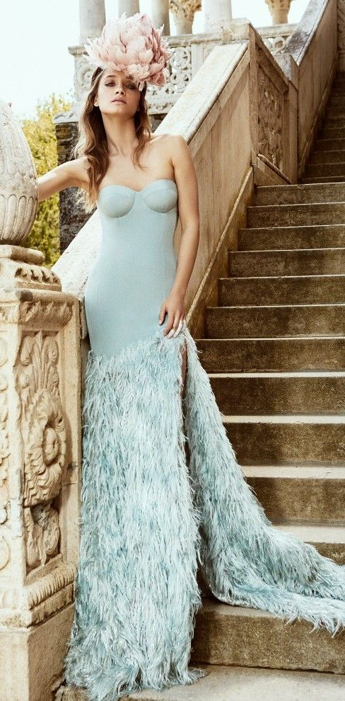 Beautiful Modern Cristina Savulescu Bridal Collection | Pastel ...