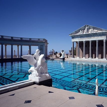 Hearst Castle California Map.Hearst Castle Grand Rooms Tour Details Overview And Map