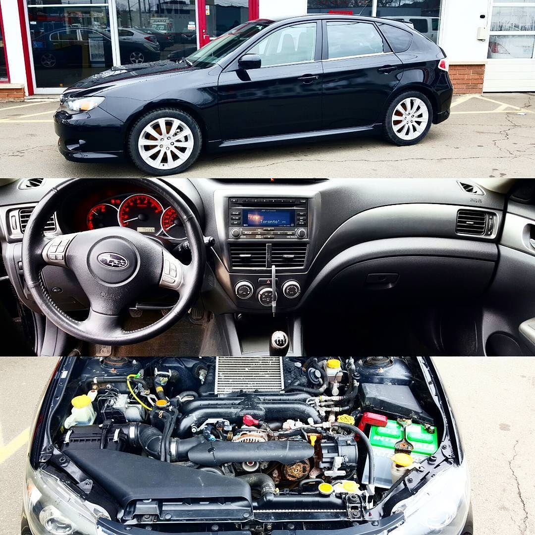2008 subaru impreza wrx 130237km all wheel drive 5 speed manual transmission 2 5l 4 cylinder