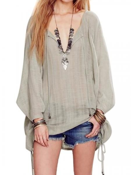 http://www.persunmall.com/product/green-v-neck-tied-side-long-sleeve-cover-up-dress-top_p10231