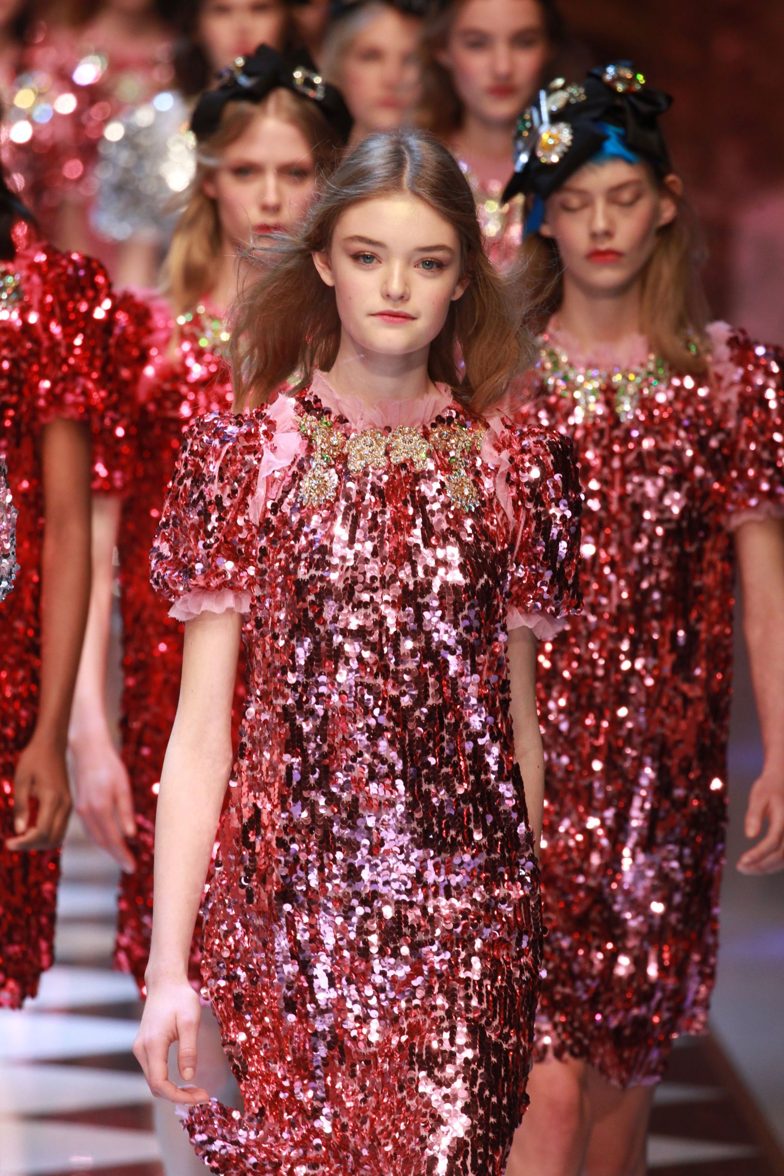 Dolce Gabbana Literally Brought Disney Fairy Tales To Life On The Runway Dolce And Gabbana Themed Outfits Fashion