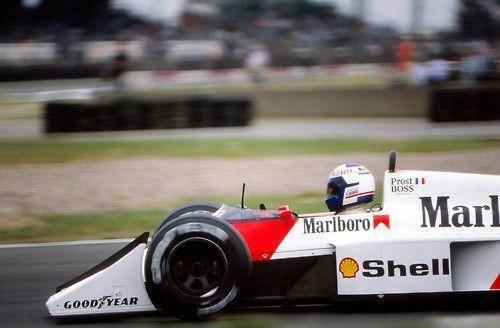 1987 British Grand Prix McLaren MP4/3 Alain Prost