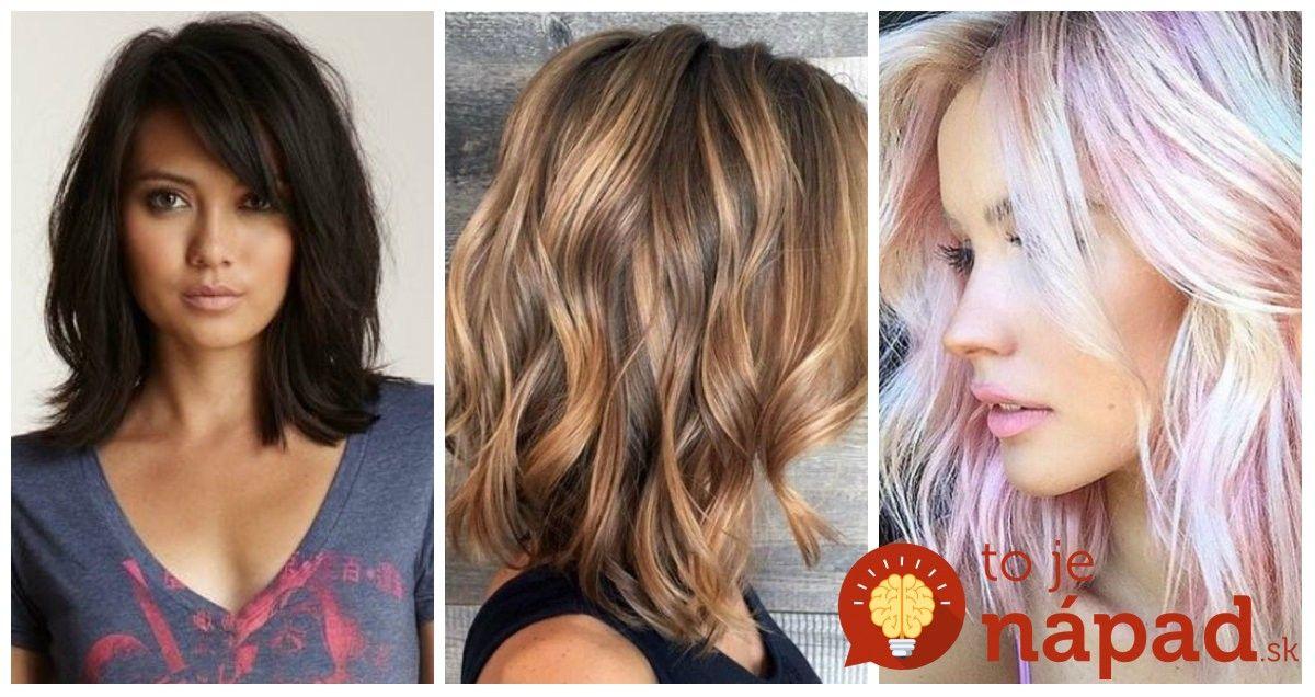 bcbc5d0e9 Dĺžka vlasov po plecia vyzerá veľmi žensky a pristane mladým ženám rovnako,  ako aj dámam