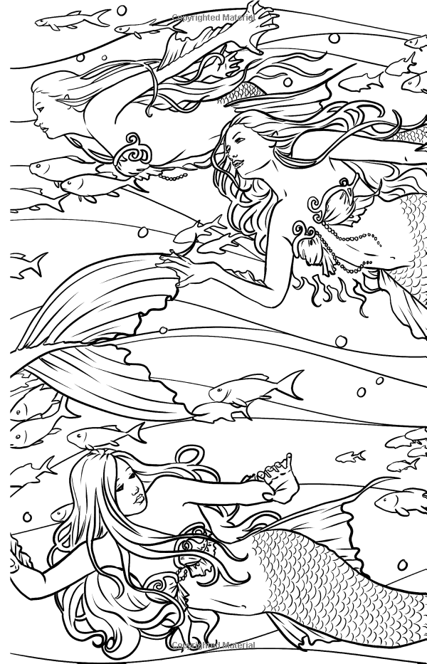Magical Minis: Pocket Sized Fairy Fantasy Art Coloring Book ...