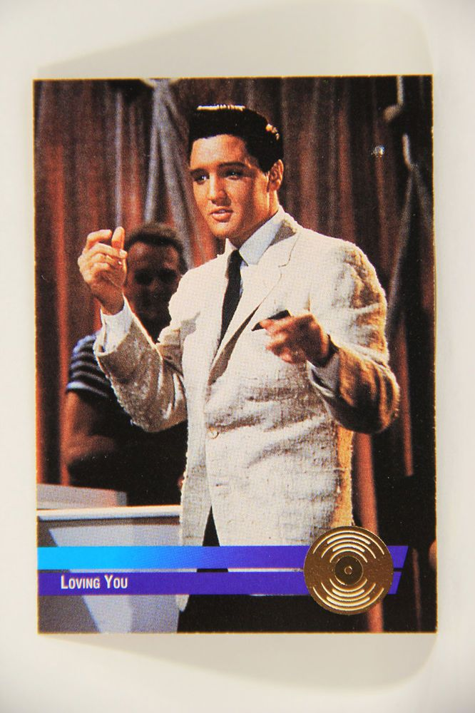 Details About L006368 The Elvis Collection Trading Card 1992