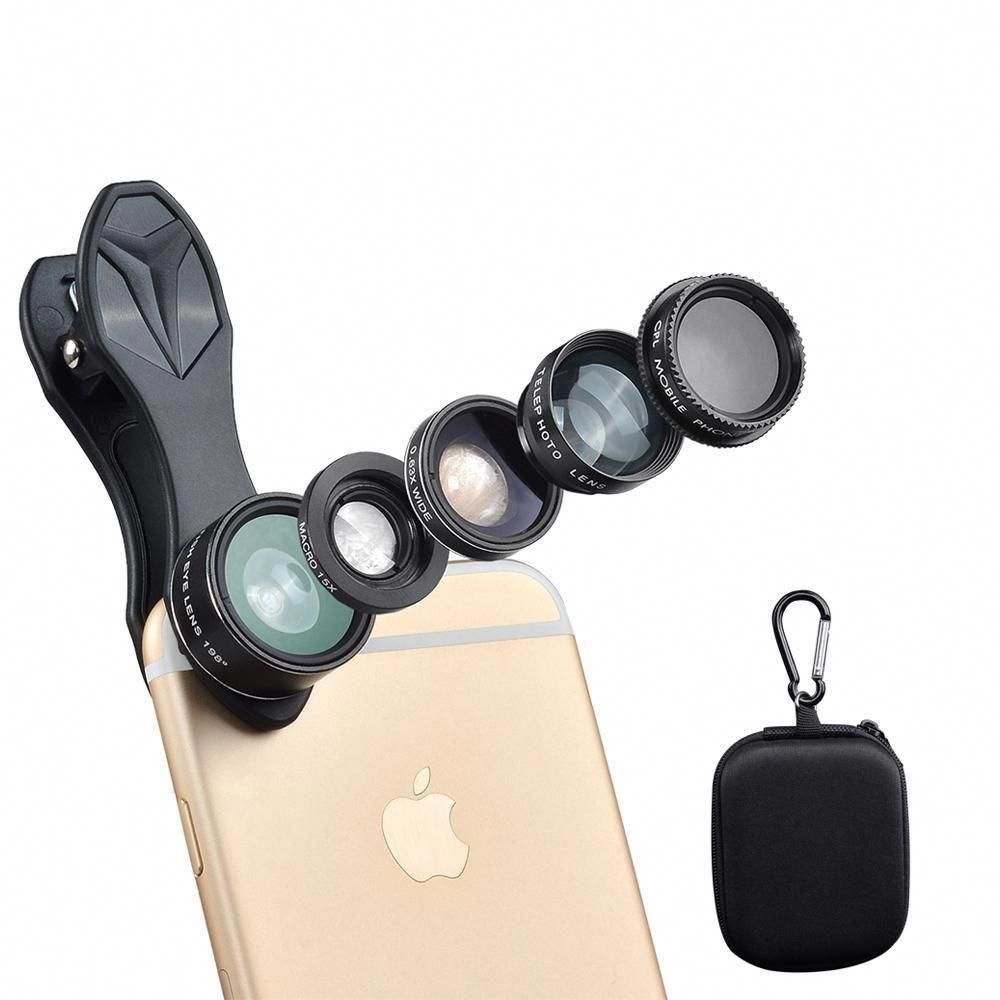 5 in 1 smartphone lens androidcameralens smartphone