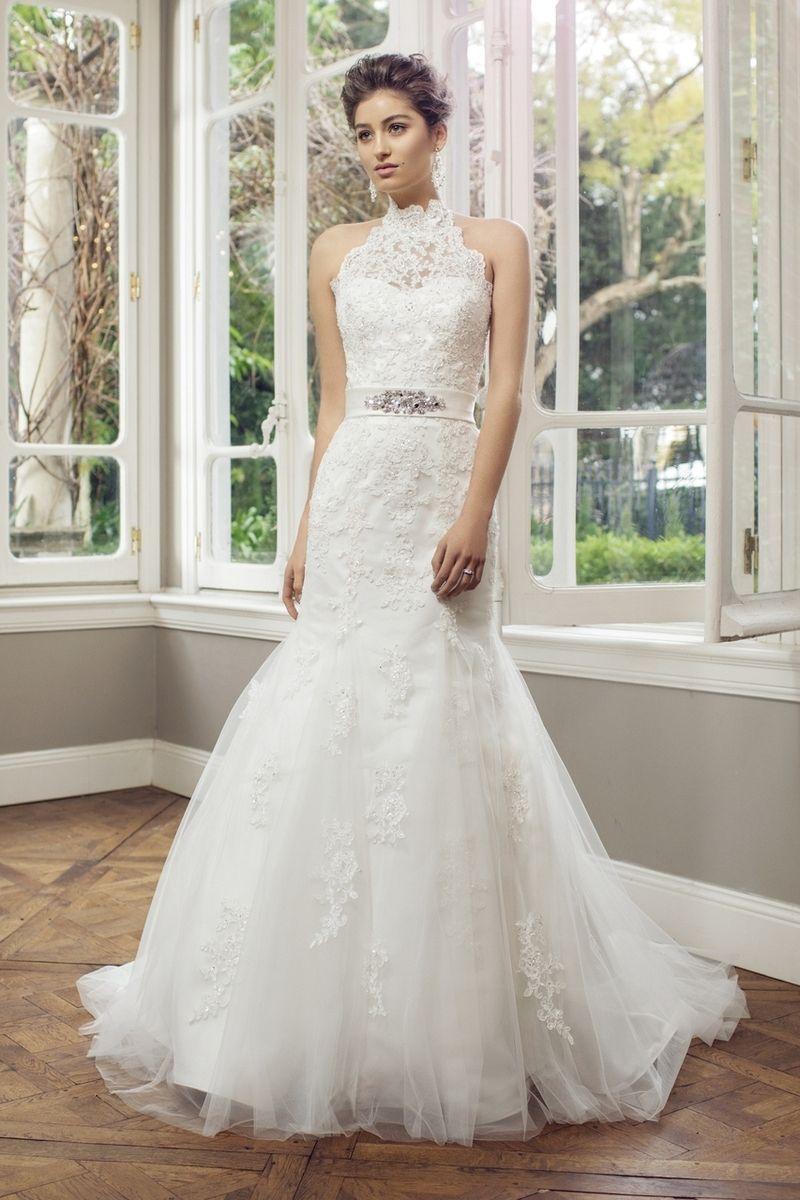 Mia solano tulle slim aline wedding dress angelique ml