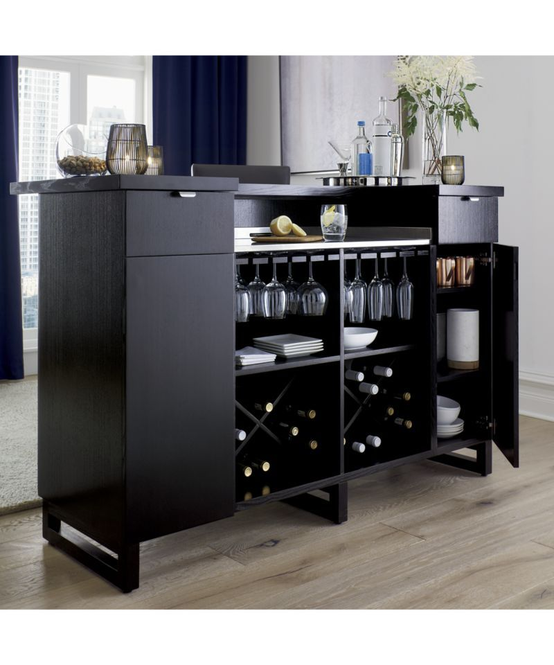 Merveilleux Steamer Standing Home Bar Cabinet With Stainless Steel Top