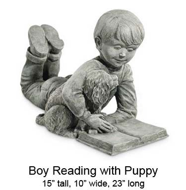 Nothing Found For Store Dog Statues Boy Reading With Puppy 121700148295584 Statue Garden Statues Dog Statue