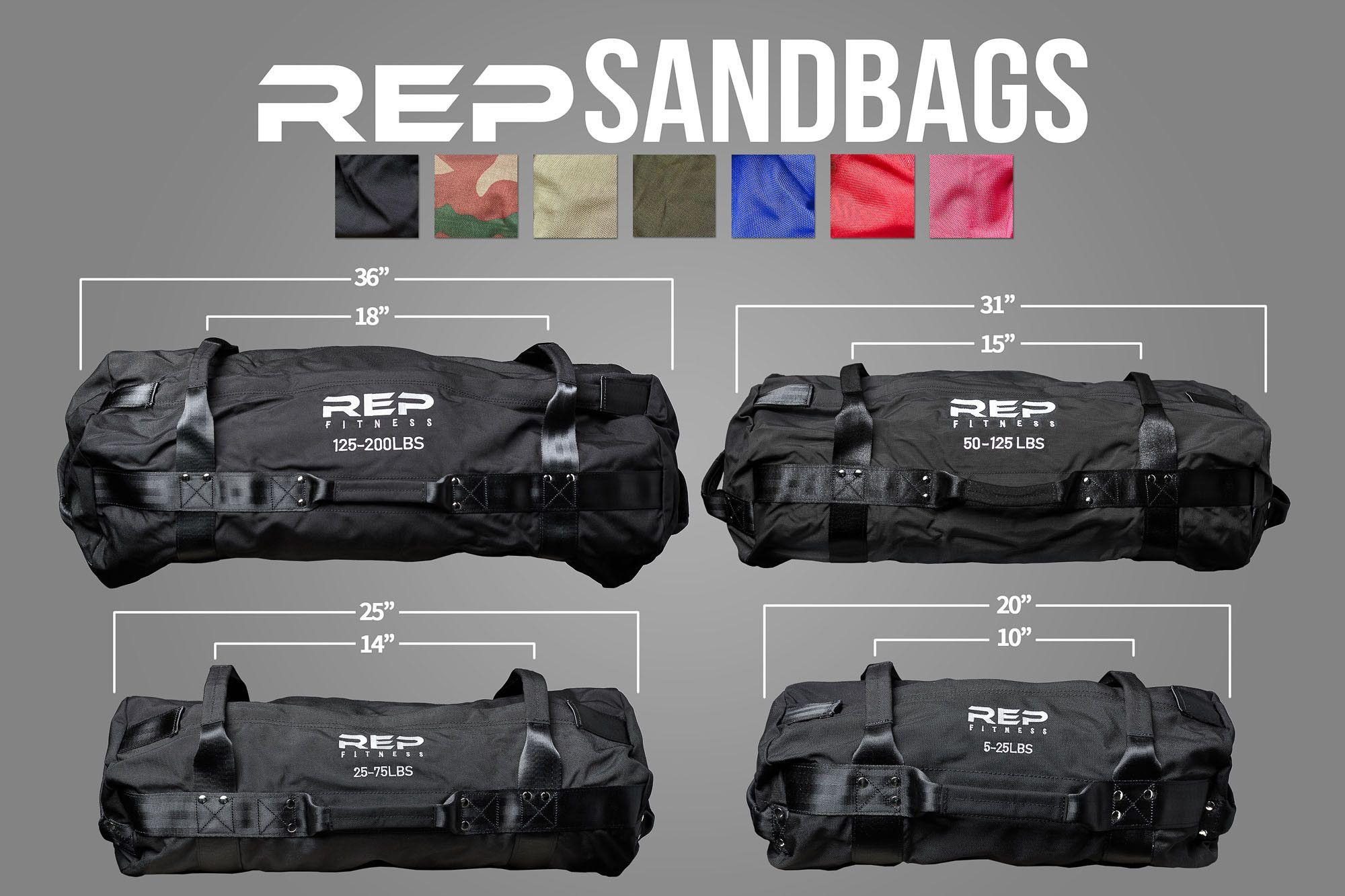 Rep V2 Sandbags Sandbag Workout Workout Bags Sandbag Training