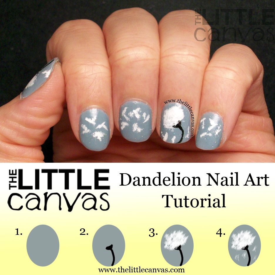 Did you like the dandelion nail art I posted yesterday? Well click ...