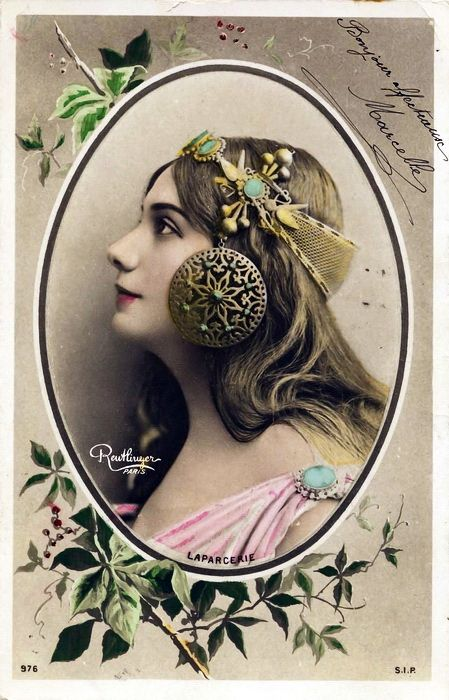 French Postcard~Cora Laparcerie