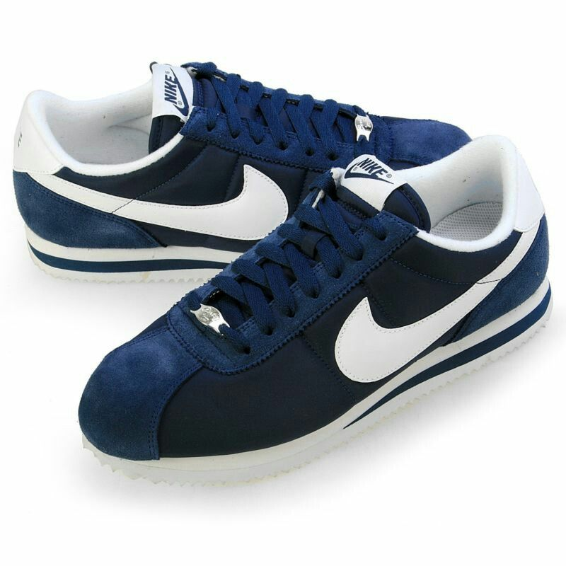 Nike cortez Blue leather and suede! Classic